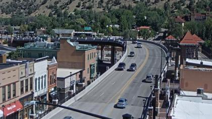 USA - Kolorado, Glenwood Springs, Widok z Colorado