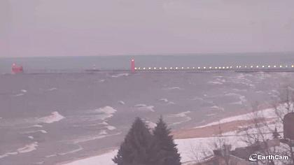 Grand Haven - jezioro Michigan - Michigan (USA)