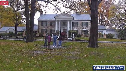 Memphis - Graceland Mansion - Tennessee (USA)
